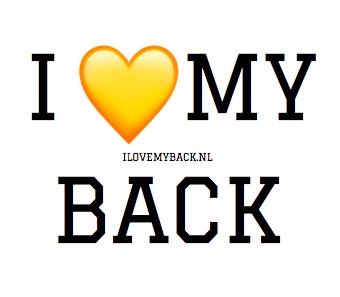 i love my back